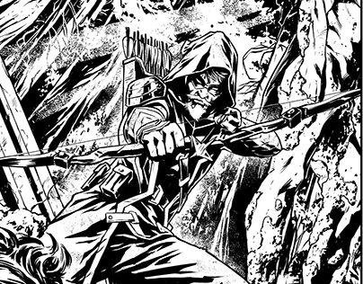 Green Arrow pages.