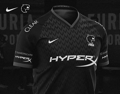 FURIA eSports x Nike Jersey Kit Remake (SOLD)