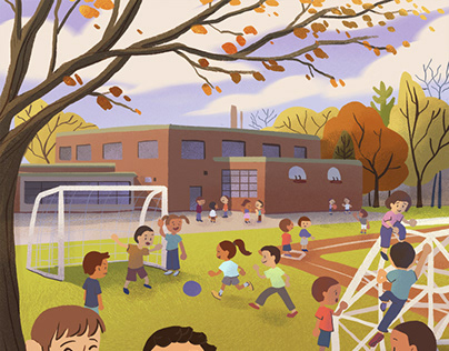 Mohawk Childrens Book Illustration