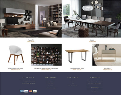 Identity and VIS for the furniture manufacturer DONNA