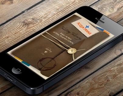 iPhone App for Acqua Panna