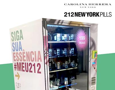 Carolina Herrera 212 New York PILLS Vending Machine