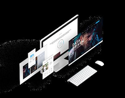 Videobeat, responsive website redesign