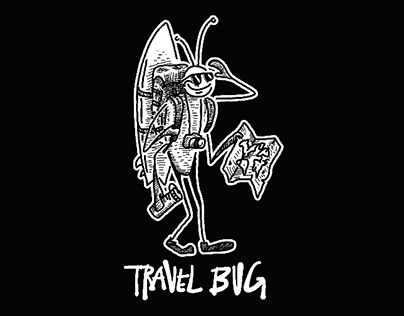 Travel Bug Series-Illustrations, Graphics from the Road