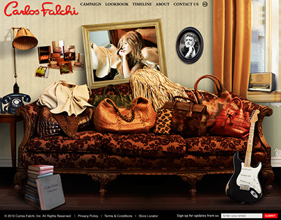 Website for Carlos Falchi