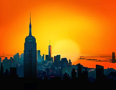 New York City sunshine