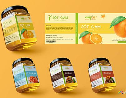 Easydiet: Packaging design