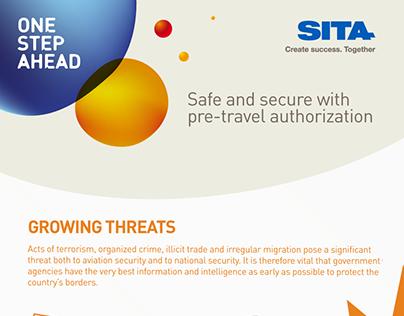 SITA -One Step Ahead Infographic