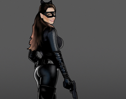 Kelly Brook as Catwoman