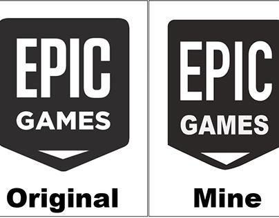 Task: Re-create Gaming logos
