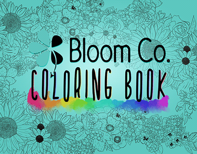 Bloom Co. Coloring Book