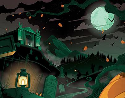 Night at the Mausoleum