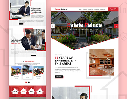 Estate Palace / Real Estate Website