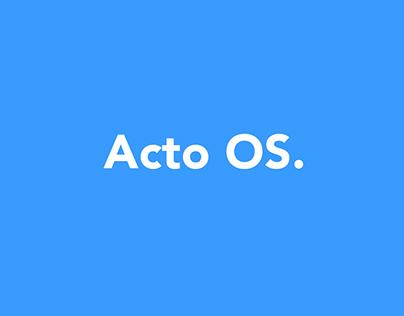 ACTO | Ordem de Serviços