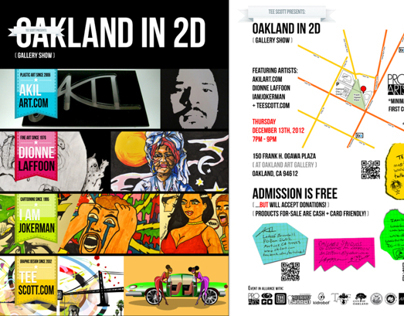 Oakland In 2D [Gallery Show]
