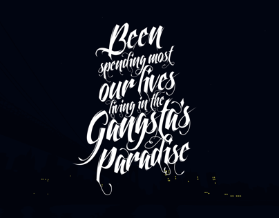 Gangsta's Paradise | FREE Wallpaper