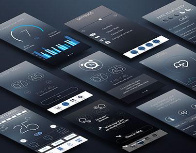 Sleep Sense  App Ux/UI