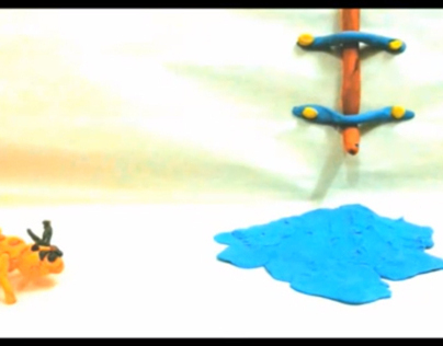 My first Claymation - Animation ( A DUNCE ANT)