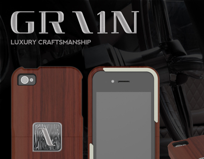 GRAIN Case : High-end Wood iPhone case