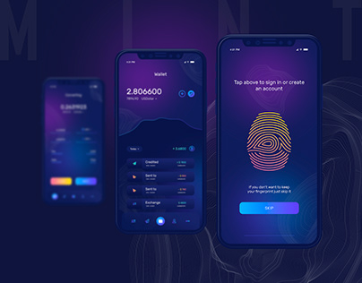 MINT - Crypto Wallet App
