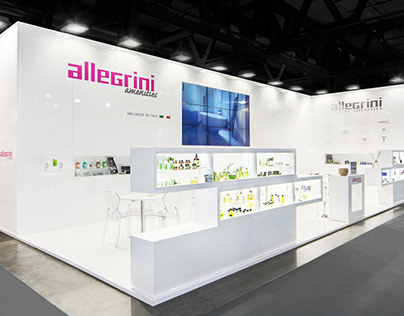 """FORM Group - Exhibition stand """"Allegrini Amenities"""""""