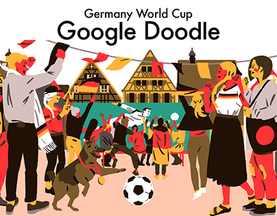 Germany World Cup Google Doodle