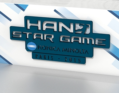 Hand star game 2015 - 3D