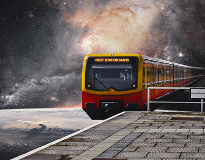 Galaxy Train-Station