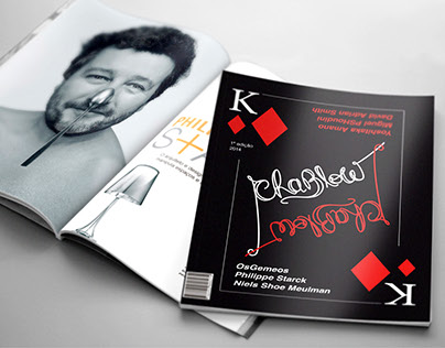 Revista Chablow - Matéria fictícia Philippe Starck