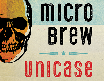 Microbrew Unicase Font Family