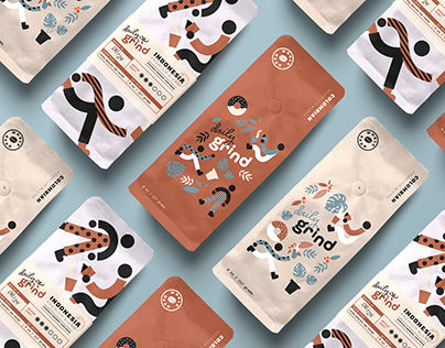 Daily Grind Coffee Packaging Design