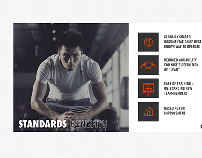 Nike Global Lean Presentation Template + Graphics