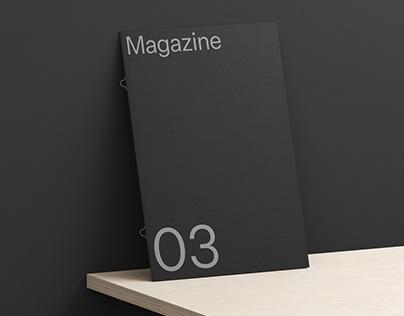 Magazine 03 Standard Mockup