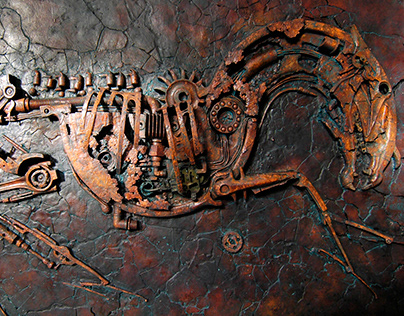 Archaeological finding of a biomechanical horse