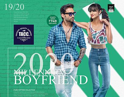 Millennium Boyrfriend Campaign for TACC Shirts