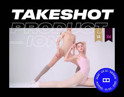 TAKESHOT PRODUCTION — WEBSITE