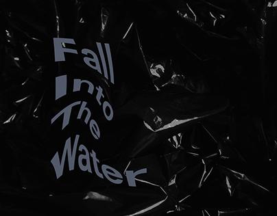 Fall Into The Water album cover design