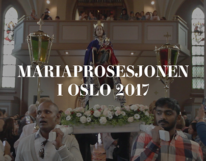 Mariaprosesjon i Oslo 2017