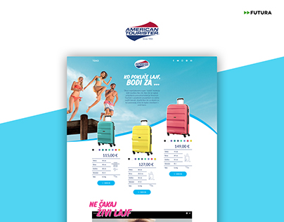 American Tourister | Client: Toko