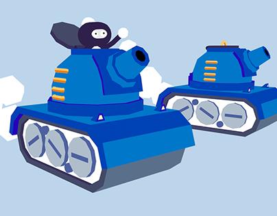 Tanks! - 3D model