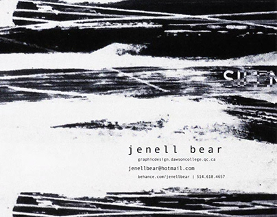 Jenell Bear: Graphic Design Projects, Demo Reel