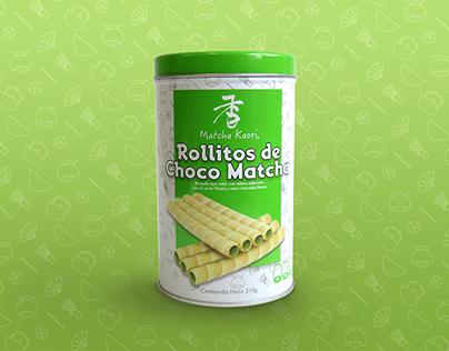 Empaque Galletas Matcha