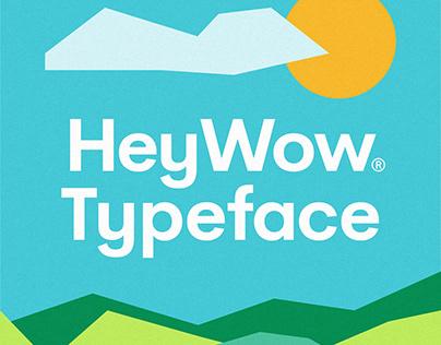 HeyWow Typeface