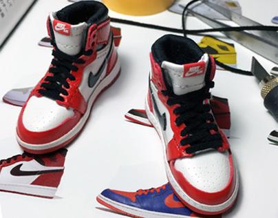 1:6 scale handmade shoes