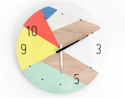 Philipp Pilz Wall Clock