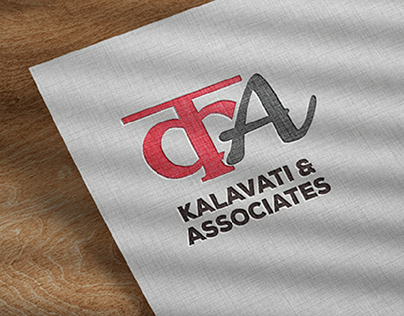 logo design (kalavati & associates)