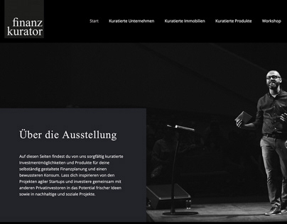 Finanz-Kurator website