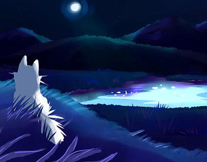 """Moon call"" Animatic"