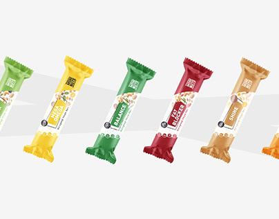 More Nuts - Bar Packaging Design