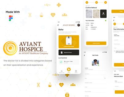 Aviant Hospice App